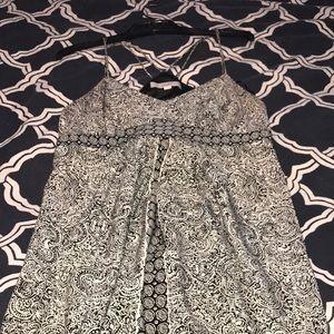 Loft Paisley Maxi Dress - Size 10